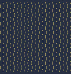 geometric seamless vertical wavy pattern vector image