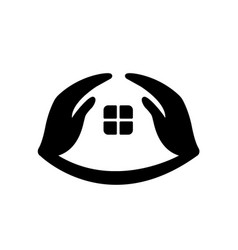 house care logo symbol design template vector image