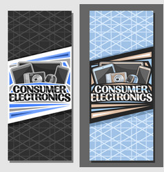 Layouts for consumer electronics vector
