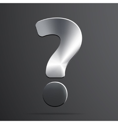 Question mark web icon background vector image