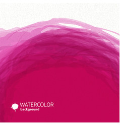 watercolor pink background vector image