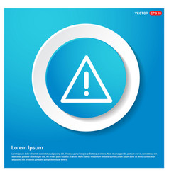 attention sign with exclamation mark icon vector image