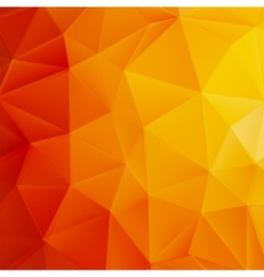 Autumn sun triangle template plus EPS10 vector image