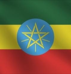Ethiopia flag vector