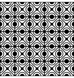 geometric lattice pattern vector image