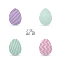 happy easter day vector image