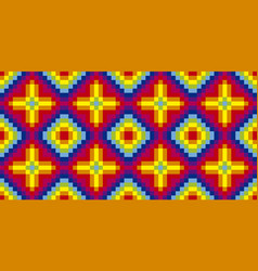 rainbow colored pattern vector image