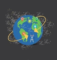 World Globe V3 vector