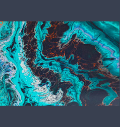 Abstract images from acrylic paint splashed vector