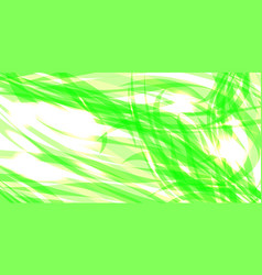 glowing gently green background of herbal threads vector image