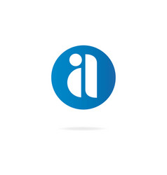Letter a logo design template elements vector