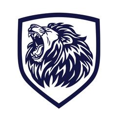 Roaring Fierce Lion Vector Images (48)