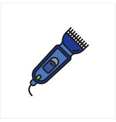 Shaver symbol hairclipper icon vector