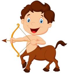 Zodiac symbol Sagittarius vector image