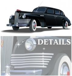 limousine vector image