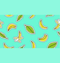 hand drawn bananas vector image