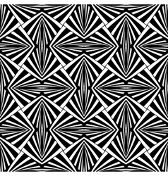 Seamless geometric design vector image vector image
