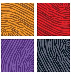 Animal skin background pattern vector