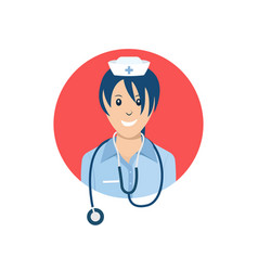 Avatar nurse vector