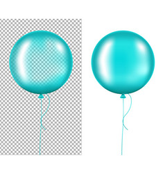 Mint balloons vector