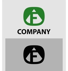 F Letter Logo Icon Design template Element vector