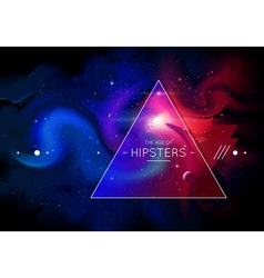 Hipster background 1 vector