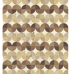 Vintage textured wavy geometric parquet seamless vector