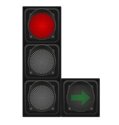traffic light 02 vector image