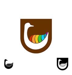 Goose logo vector