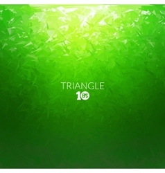 Abstract triangle underwater background vector image vector image