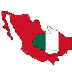 Mexican handshake vector image