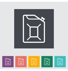 Gas Containers vector image vector image