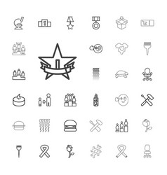 33 one icons vector