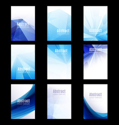 Abstract report cover8 vector