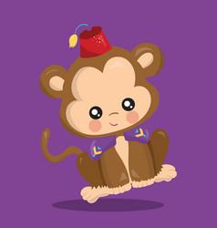 Alladin monkey 10 vector
