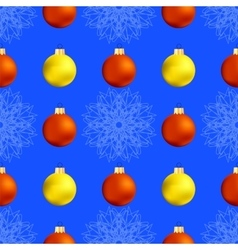 Christmas Decoration Seamless Pattern vector