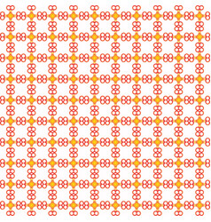 seamless pattern on white background vector image