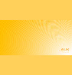 smooth light yellow background with curved lines vector image