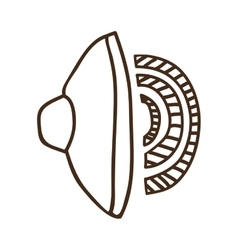 Volume speaker icon vector