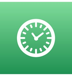 watch clock icon time timer vector image