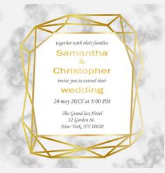 Wedding luxury inviration vector