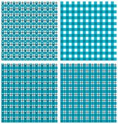 Geometric Plaid Pattern vector image vector image