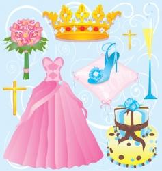 quinceanera clip art vector image vector image