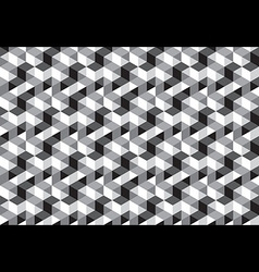 Cube Block Seamless Pattern vector image