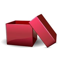 Open box vector image vector image