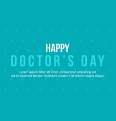 Background style of world doctor day vector