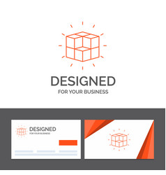 Business logo template for box labyrinth puzzle vector