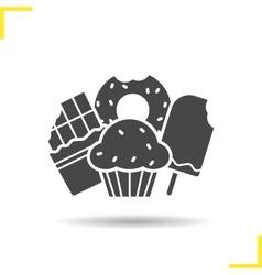 Confectionery icon vector