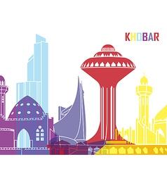 Khobar skyline pop vector