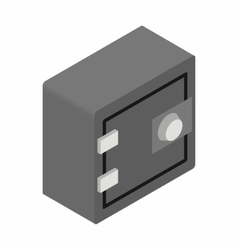Security safe isometric 3d icon vector image